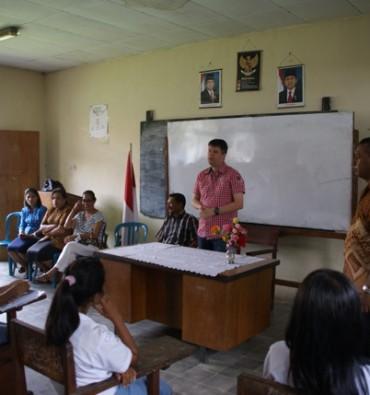 Ambonstad In gesprek met leerlingen