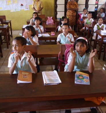Ambonstad Schoolklas