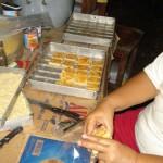 Bakkerij filiaal Passo droge koeken voor supermarkt