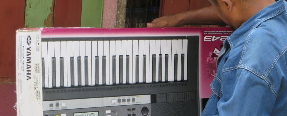 Keyboard voor school Airlouw