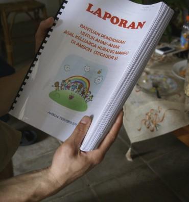 Onderwijsproject Kinderen uit Kansarme Gezinnen Verantwoording door veldwerkster