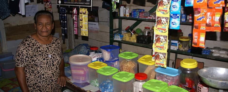 Pondok (kleine winkel) in Seri