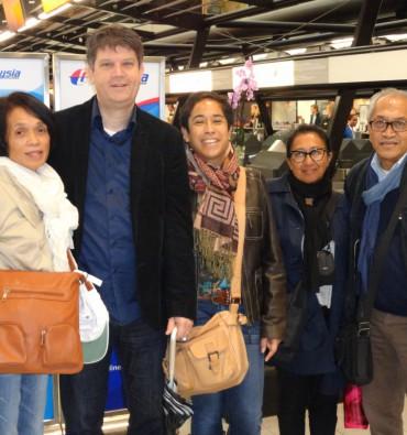 Uitwisseling SZR Tiel Delegatie van Ned naar Ambon 2012
