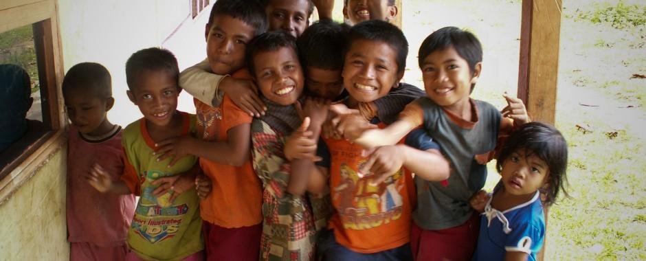 Kids op de Molukken