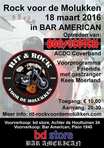 Flyer Rock voor de Molukken
